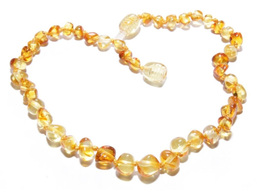 Amber Anklet or Necklace?